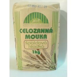 Mouka špaldová hladká Bio 1kg NATURAL