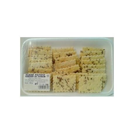 Slané pečivo tukové se sýrem bezlepkové 100g