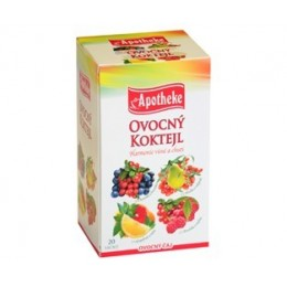 Čaj ovocný koktejl 4 v 1 APOTHEKE