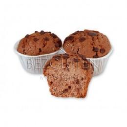 Muffins tmavé s kousky čokolády bezlepkové 330g BEZGLUTEN
