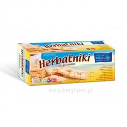 Sušenky čajové bezlepkové 130g BEZGLUTEN