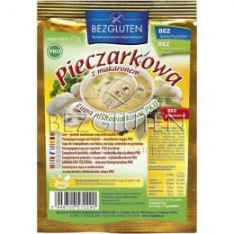 Polévka žampiónová s těstovinami nízkobílkovinná PKU 17g