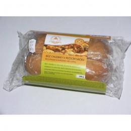 Bílé chlebíky v pečícím sáčku BEZ LEPKU k dopečení 300