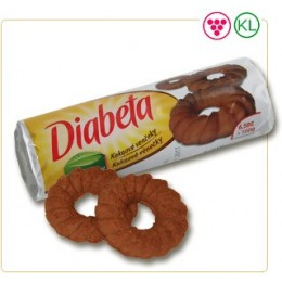 Diabeta kakaové věnečky 100g PLH