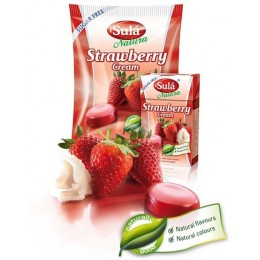 Sula - jahody smetana 44g bez cukru