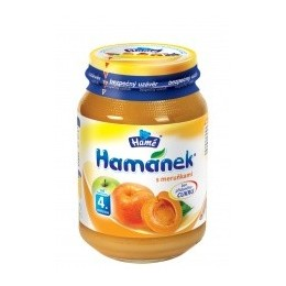 Hamánek kojenecká výživa s meruňkami neslaz.180g