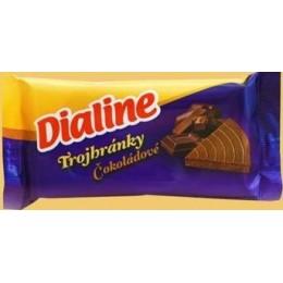 Dialine - trojhránky - čokoládové