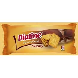 Dialine polomáčené sušenky 75g