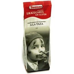 Horká čokoláda bez cukru 180g TORRAS