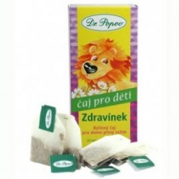 Čaj Dětský Zdravínek n.s.20x1.5g Dr.Popov