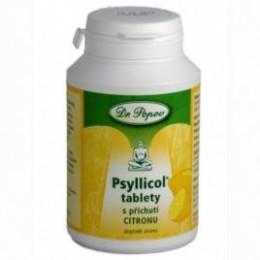 Psyllicol tablety s příchutí citronu 108g POPOV