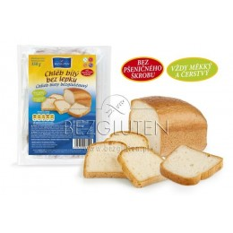 Chléb bílý bez lepku 300g Bezgluten