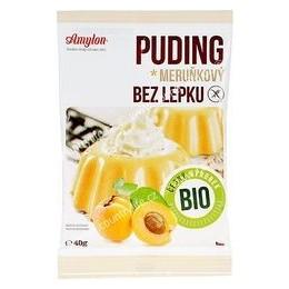 Puding meruňkový s kousky ovoce bezlepkový 40 g BIO AMYLON