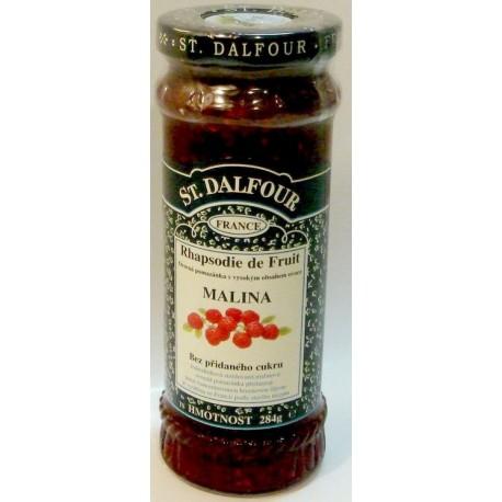 Džem St. Dalfour – malina s granátovým jablkem 284g