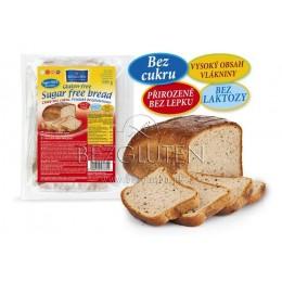 Chléb bez cukru a lepku 350g BEZGLUTEN