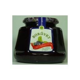 Džem borůvky s výtažkem ze stévie sladké 360g