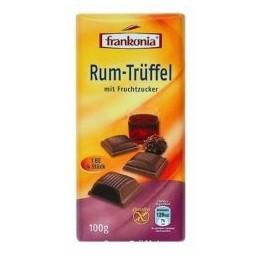 Frankonia - mléčná čokoláda s rumovo-lanýžovou náplní 1