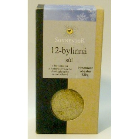 12-ti bylinná sůl Sonnentor