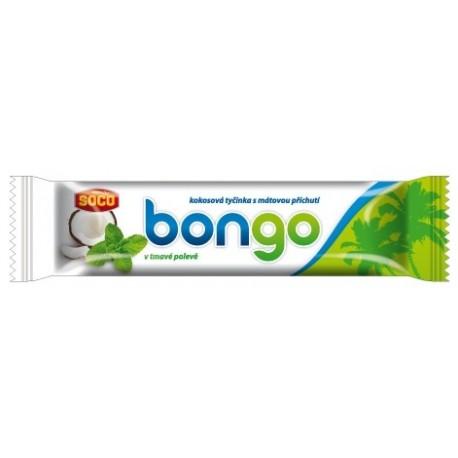 Bongo máta 40g - kokosová tyčinka s mátovou příchutí v tm