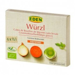 Bujon zeleninový WÜRZL kostky bez droždí 72 g BIO EDEN