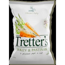 Tretter´s chips mrkev pastyňák pepř&sůl 90g