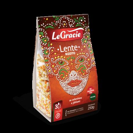 Rizoto Lente se zeleninou a jáhlami 250g LeGracie