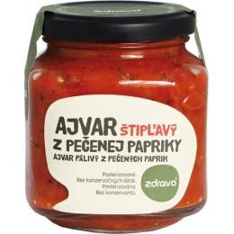 Ajvar z pečené papriky štiplavý 310g