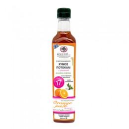 Pomerančová koncentrovaná šťáva se stévií 660 ml Kallisti