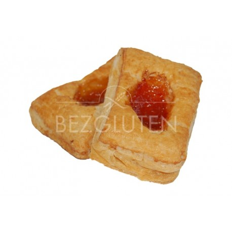Koláčky francouzské s meruňkovou náplní 150g Bezgluten