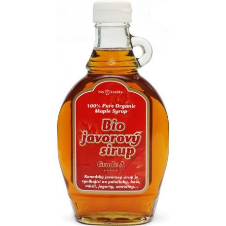 Javorový sirup – Grade A BIONEBIO