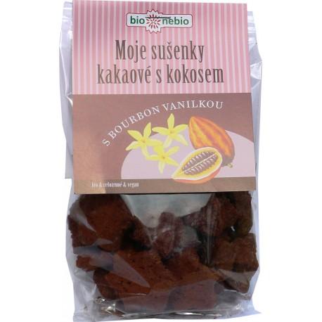 Moje sušenky kakaové (kokos&vanilka) 130g BIONEBIO