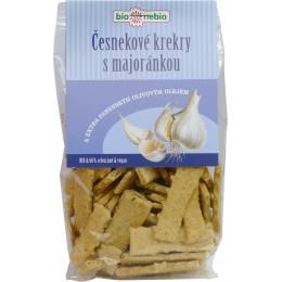Olivové krekry - česnek majoránka 130g BIONEBIO