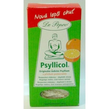 Psyllicol – pomeranč 100g POPOV