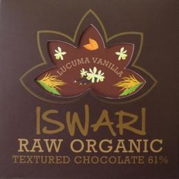 Čokoláda Vanilla-Lucuma BIO RAW ISWARI