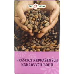 Nepražený kakaový prášek 150 g BIONEBIO