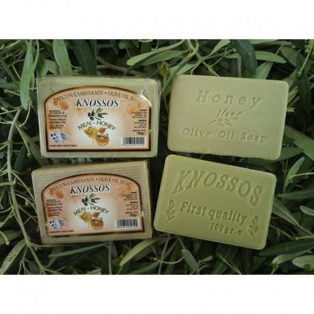 Olivové mýdlo s medem