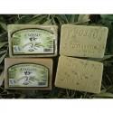 Olivové mýdlo s olivovými listy