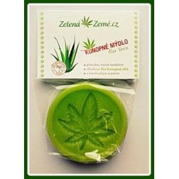 Konopné mýdlo - Aloe vera 80 g ZZ