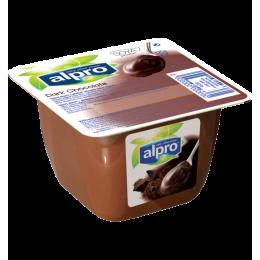 Sojový dezert tmavá čokoláda 125ml Alpro
