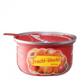 Ovocné pyré z jablek a meruňek, bez cukru, 110g