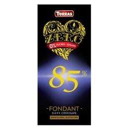 Hořká čokoláda 85 % 125g TORRAS