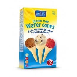 Kornouty zmrzlinové bez lepku 48g (12ks) BEZGLUTEN
