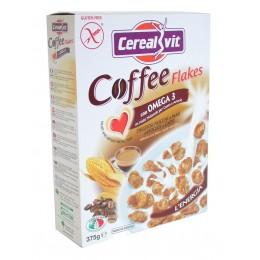 Cerealvit - Kukuřičné lupínky máčené v kávě s Omega 3 (375 g)
