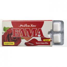 Žvýkačky ELMA s mastichou - růže