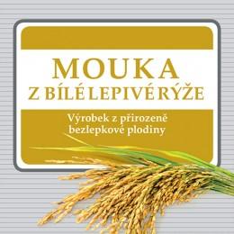 Mouka z bílé lepivé rýže 250 g ADVENI