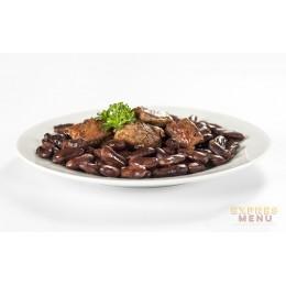 Vepřové maso s fazolemi a lečem 300g Expres Menu