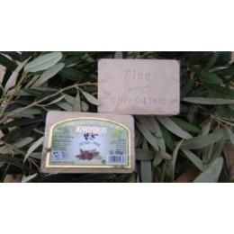 Olivové mýdlo s vůní borovice 100g