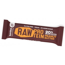 Cocoa beans RAW PROTEIN tyčinka 50g BOMBUS