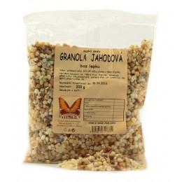 Granola jahodová 200g Natural