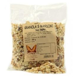 Granola s mandlemi 200g Natural
